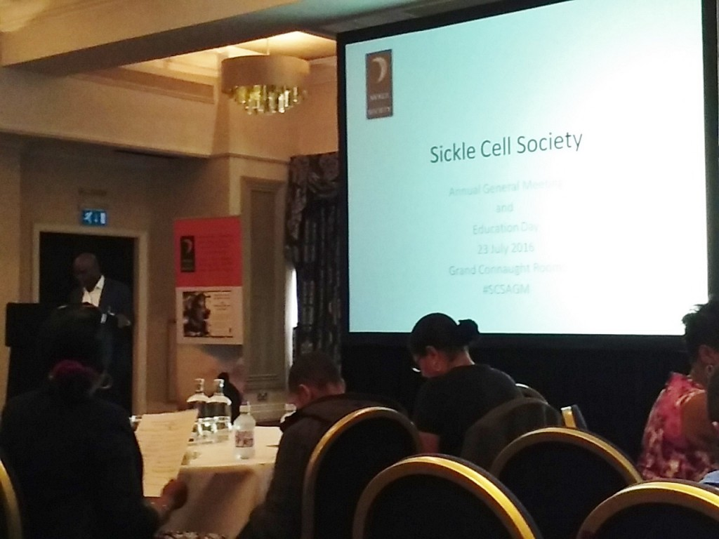 Sickle Cell Society 2016